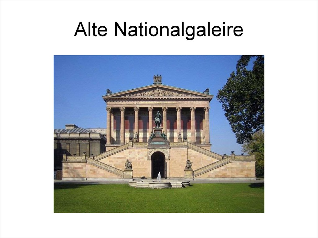 Alte Nationalgaleire