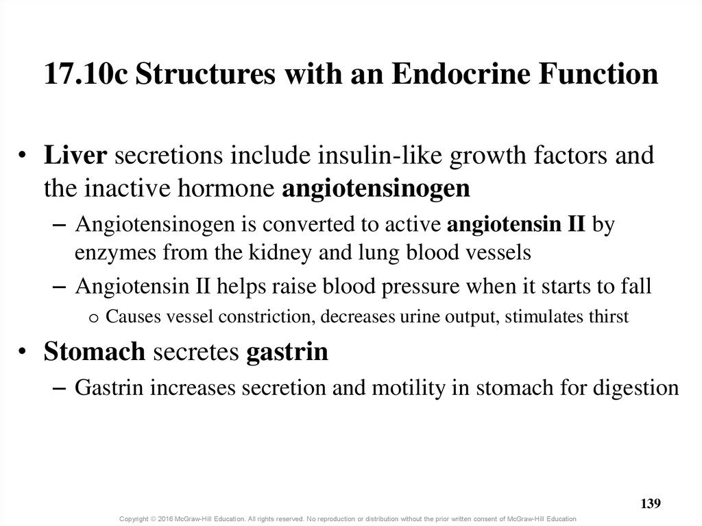 17.10c Structures with an Endocrine Function