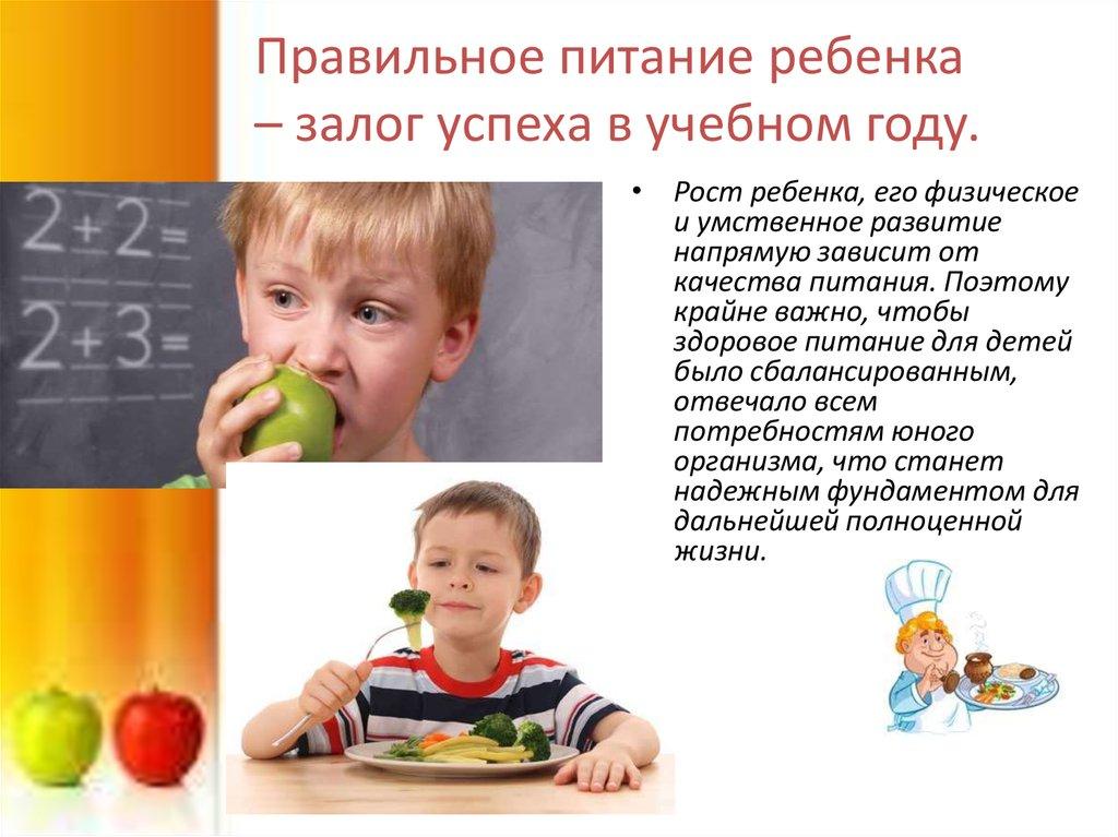 рацион питания ребенка до 1 года