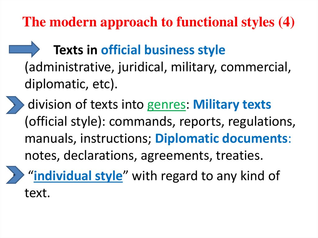 The modern approach to functional styles (4)