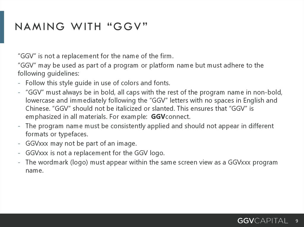 "Naming with ""ggv"""