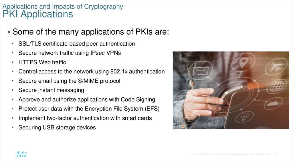 Applications and Impacts of Cryptography PKI Applications