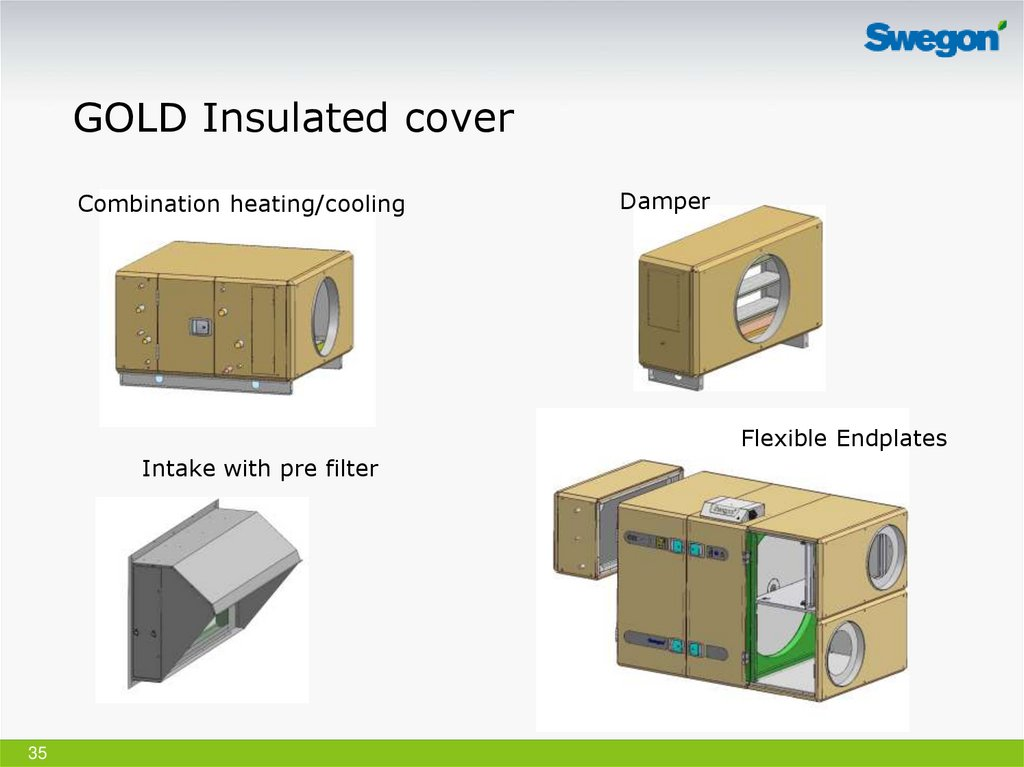 GOLD Insulated cover