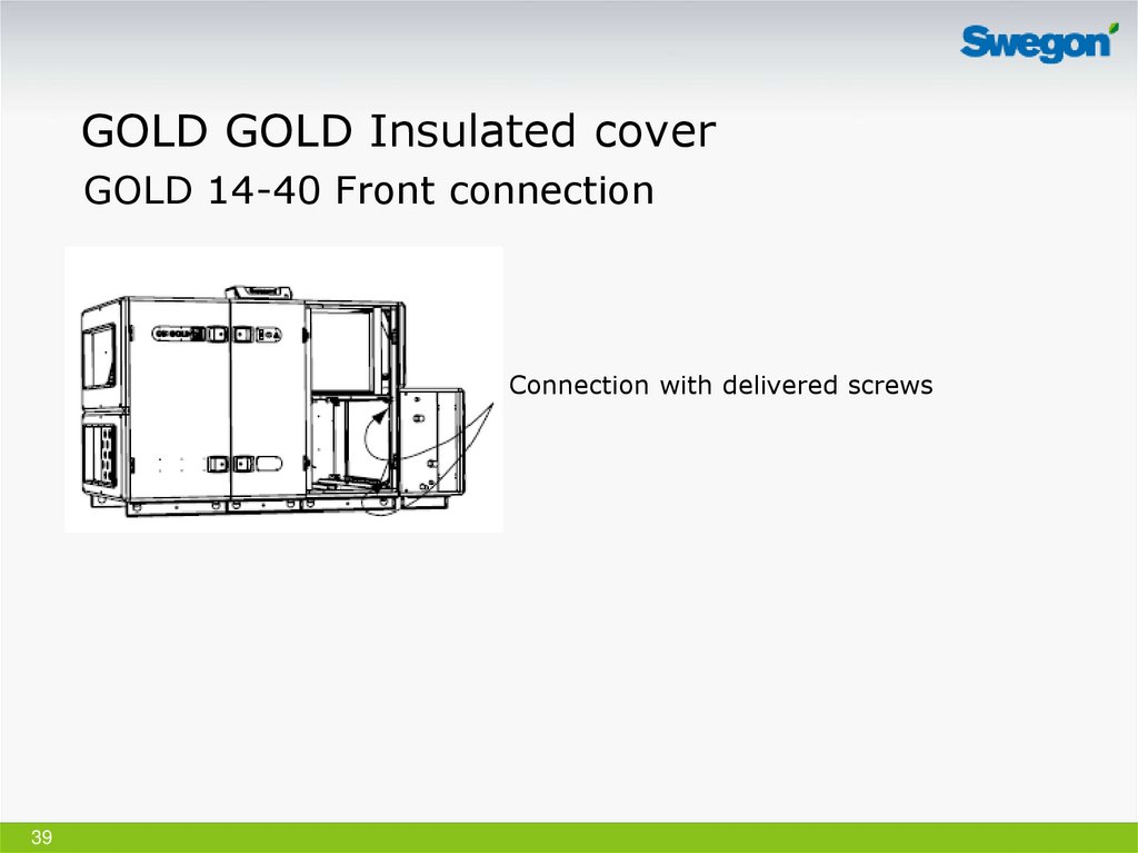 GOLD GOLD Insulated cover