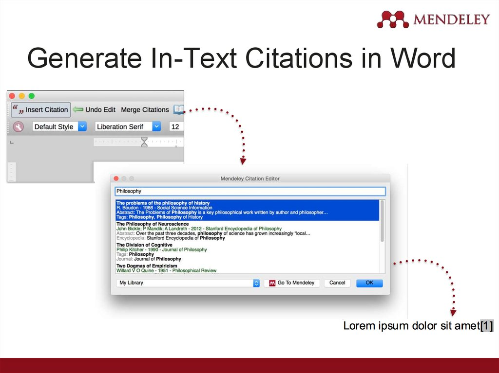 Generate In-Text Citations in Word