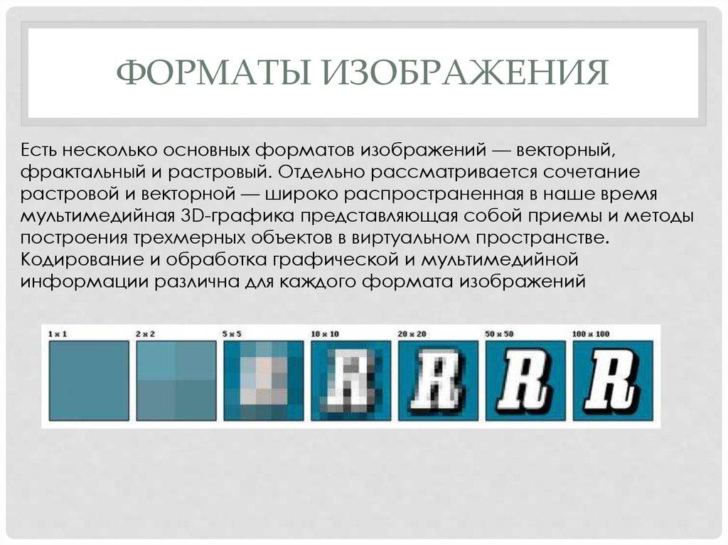Графический формат картинки