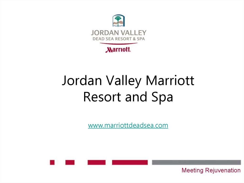Jordan Valley Marriott Resort and Spa www.marriottdeadsea.com